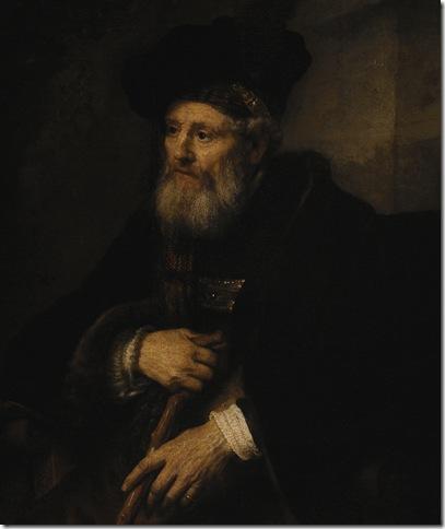 Figura de velho_Rembrandt_Calouste Gulbenkian